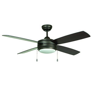 Laval 52 Espresso Ceiling Fan with LED Light