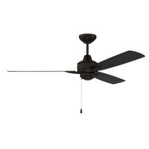 Moto Flat Black 52-Inch Ceiling Fan