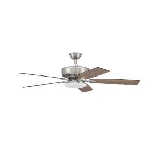 Pro Plus Brushed Polished Nickel 52-Inch LED Ceiling Fan