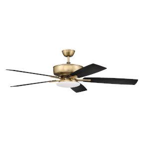 Pro Plus Satin Brass 52-Inch LED Ceiling Fan