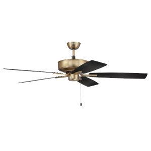Pro Plus Satin Brass 52-Inch Ceiling Fan