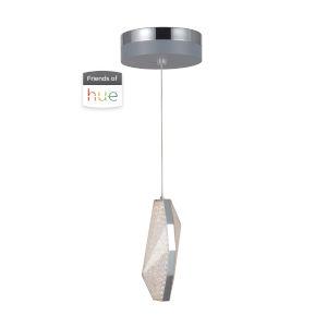 Chrome LED Eight-Inch Mini Pendant