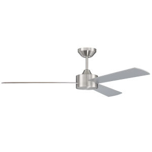 Provision Brushed Polished Nickel 52-Inch Ceiling Fan