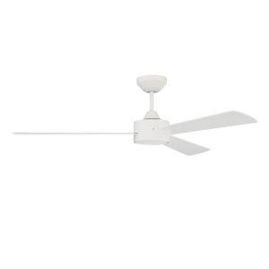 Provision Matte White 52-Inch Ceiling Fan