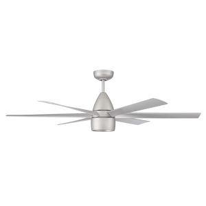 Quirk Titanium 54-Inch LED Ceiling Fan