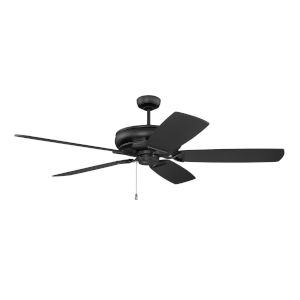 Supreme Air Flat Black  62-Inch Ceiling Fan