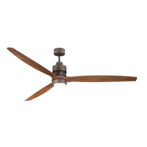 Sonnet Espresso Led 52-Inch Ceiling Fan Kit