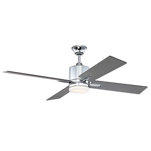 Teana Chrome Led 52-Inch Ceiling Fan