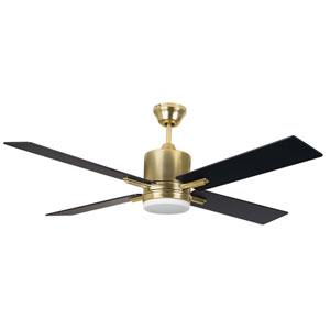 Teana Satin Brass Led 52-Inch Ceiling Fan