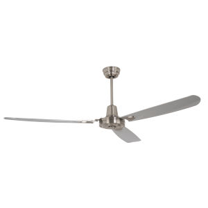 Velocity Brushed Polished Nickel 58-Inch Ceiling Fan