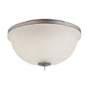 Elegance Bowl French White Led Fan Light Kit