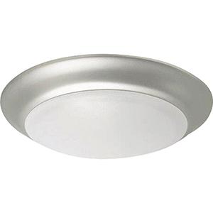 Brushed Polished Nickel LED Flushmount