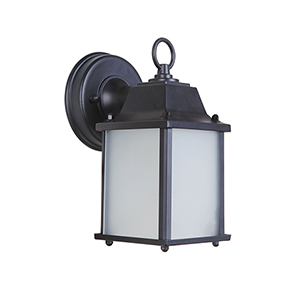 Coach Lights Oiled Bronze LED Outdoor Wall Lantern