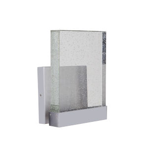 Aria II Satin Aluminum Large LED Outdoor Wall Mount