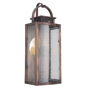 Hearth Weathered Copper LED Outdoor Pocket Lantern