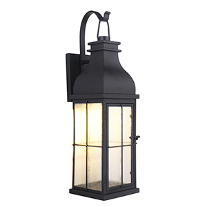 Vincent Midnight LED Five-Inch Outdoor Wall Lantern