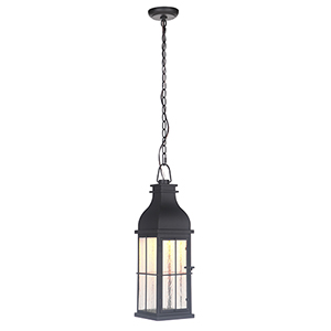 Vincent Midnight LED Outdoor Pendant