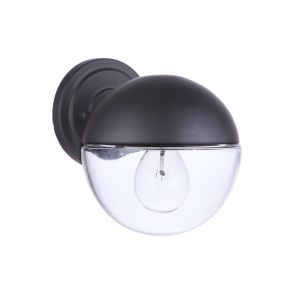 Evie Midnight Seven-Inch One-Light Outdoor Wall Sconce