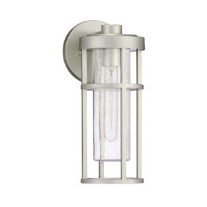 Encompass Satin Aluminum Six-Inch One-Light Outdoor Wall Sconce