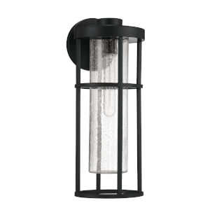 Encompass Midnight Seven-Inch One-Light Outdoor Wall Sconce
