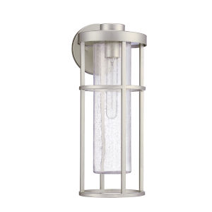 Encompass Satin Aluminum Seven-Inch One-Light Outdoor Wall Sconce