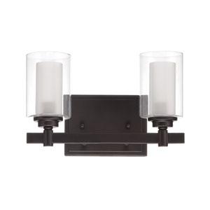 Celeste Espresso Two-Light Bath Fixture