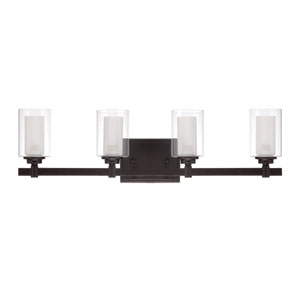 Celeste Espresso Four-Light Bath Fixture