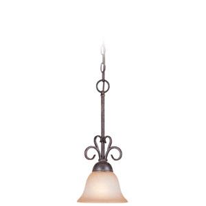 Sheridan Forged Metal One Light Mini Pendant
