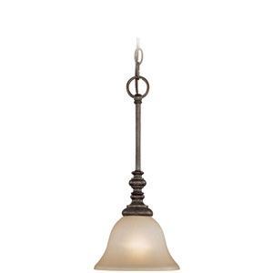 Barret Place Mocha Bronze One Light Mini Pendant