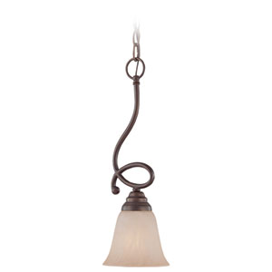 Cordova Old Bronze One Light Mini Pendant