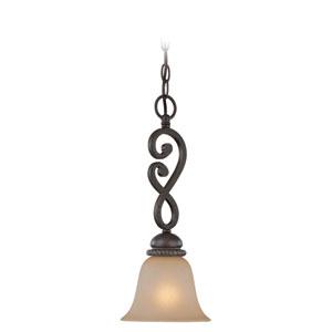 Highland Place Mocha Bronze One Light Mini Pendant