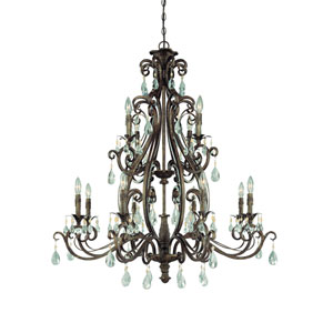 Englewood French Roast 12 Light Chandelier