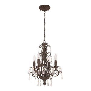 Englewood French Roast Four-Light Mini Chandelier