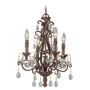 Englewood French Roast Four Light Chandelier