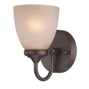 Spencer Bronze One Light Vanity