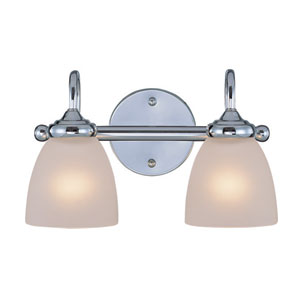 Spencer Chrome Two Light Vanity