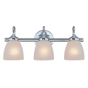 Spencer Chrome Three Light Vanity