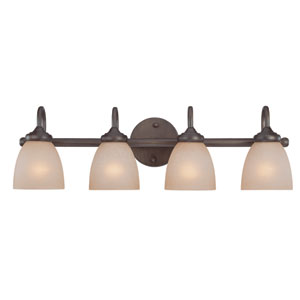 Spencer Bronze Four Light Vanity