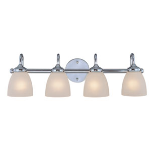 Spencer Chrome Four Light Vanity