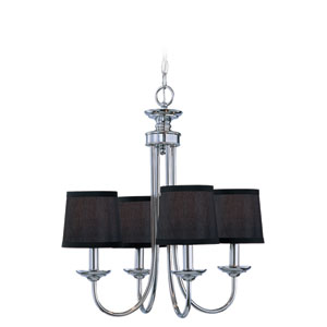Spencer Chrome Four Light Chandelier
