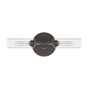 Modina Espresso Two-Light Wall Sconce