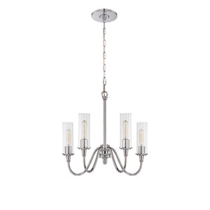 Modina Chrome Four-Light Chandelier