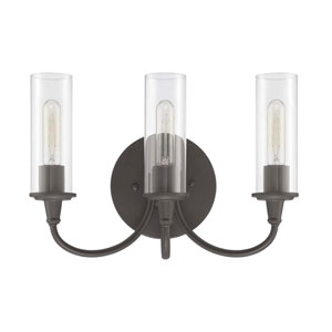 Modina Espresso Three-Light Bath Fixture