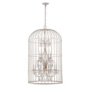 Ivybridge French White 12-Light Pendant