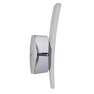 Aura Chrome LED Four-Inch Wall Sconce