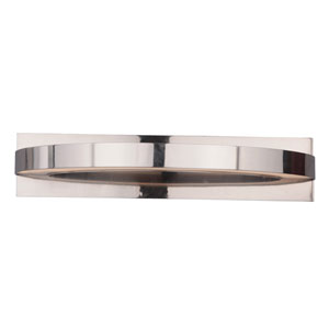 Hyperion Brushed Nickel 22-Inch Two-Light LED Wall Sconce