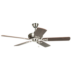 Majestic Brushed Nickel 52 Inch Blade Span Ceiling Fan And Blades