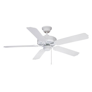 Enduro White 52 Inch Blade Span Outdoor Ceiling Fan And Blades