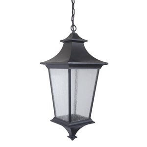 Argent II Midnight Three-Light Outdoor Pendant