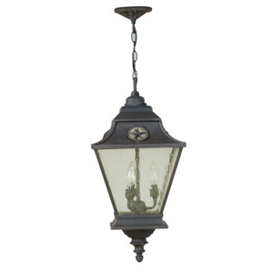 Chaparral Outdoor Pendant in Rust Finish